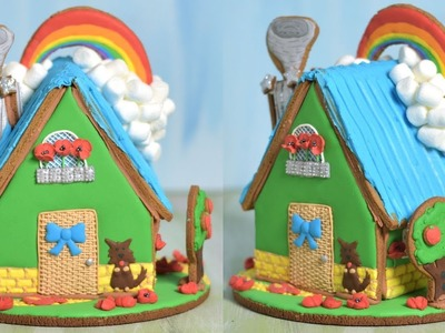 WIZARD OF OZ GINGERBREAD HOUSE by HANIELA'S