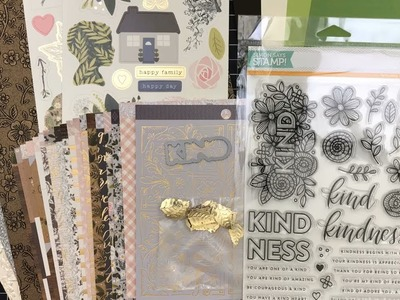 10 Cards - 1 Kit | Simon Says Stamp Monthly Card Kit November 2017 | Part 1