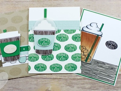 2 Cards, 10 mins feat Coffee Cafe Bundle from Stampin' UP!