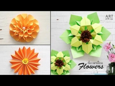 3 Easy Decorative Paper Flower