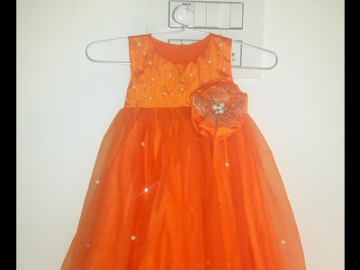 Baby Frock Cutting And Stiching DIY