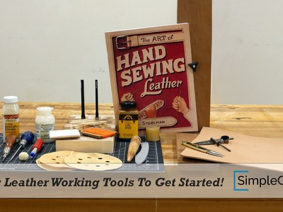 Basic Leather Working Tools To Get Started!