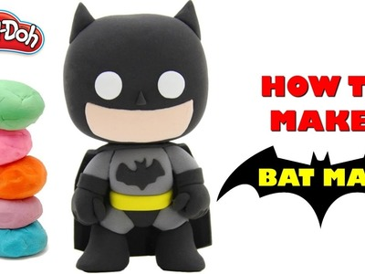 Batman clay Modal | Making Of Batman Character With Using Clay | Watch and Learn