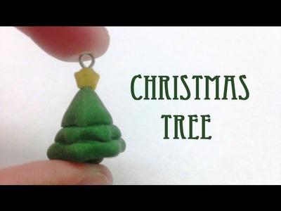 Christmas Tree Charm: Clay Tutorial
