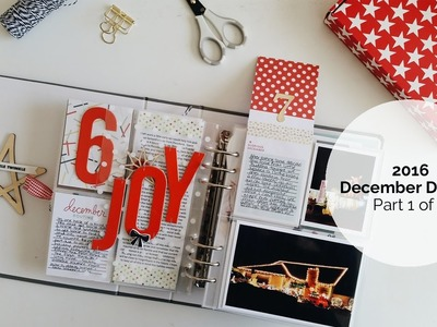 Completed December Daily® 2016: PART 1 of 2