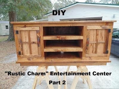 D.I.Y. Entertainment Center Build - Part 2