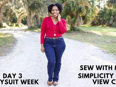 Day 3 Bodysuit Week: Sew With Me: Simplicity 8513 View C: Easy Sew