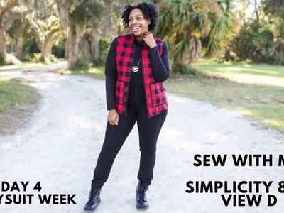 Day 4 Bodysuit Week: Sew With Me: Simplicity 8513 View D: Easy Sew
