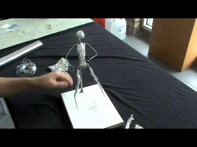 DIY Armature- Bulk Out & Apply Clay