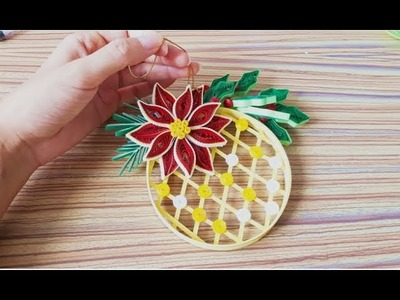 DIY Paper Quillings -Christmas Decoration - Easy & Simple  Christmas design34