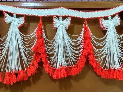 Doll toran, Pari design Wool Toran ( bandhanwar )  No-9