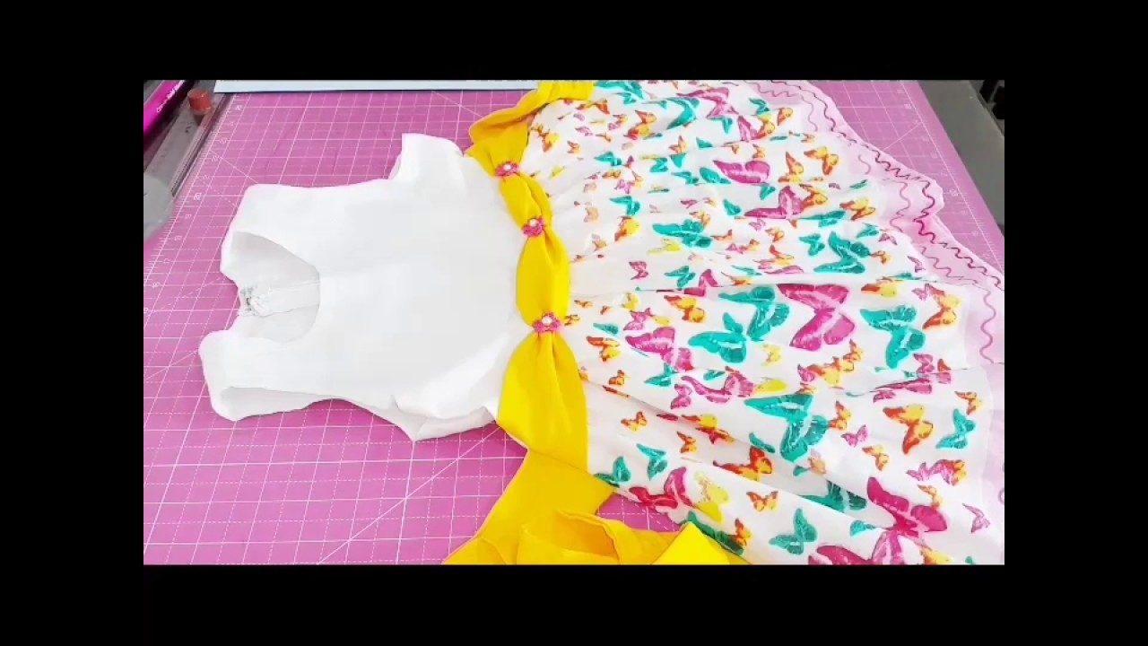 Drafting Bodice for Baby Frock part 1