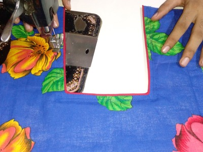 Glass Neck Design For Kurtis.kameez- Easy Making in Hindi
