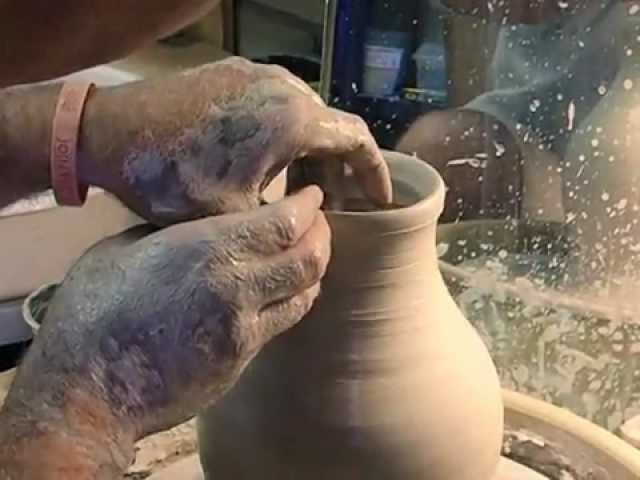 Greek Studies: The Ancient Art of Throwing a Pot on the Wheel