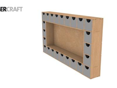 How to Construct Kaisercraft BTP Advent Block SB2316