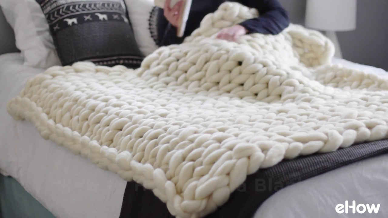 How to Hand Knit a Blanket