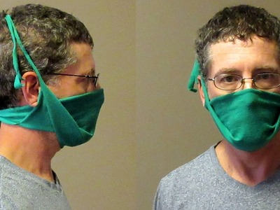 How to Make a Dust Mask out of a Tee Shirt