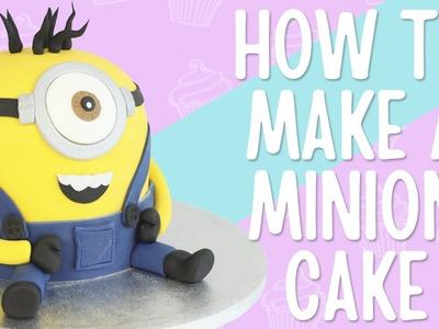 How To Make A Minion Cake - Step By Step