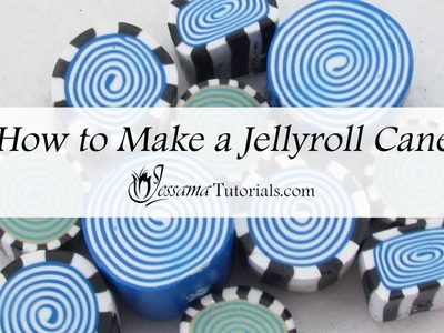 How to Make a Polymer Clay Jellyroll Cane
