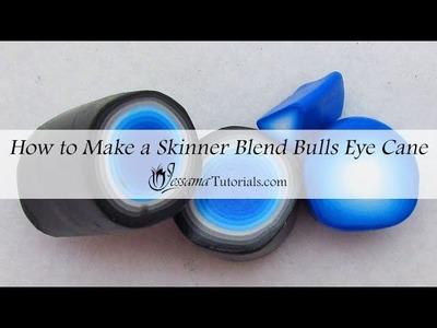 How to Make a Skinner Blend Bulls Eye Cane