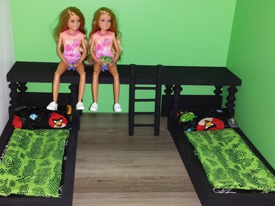 How to make Doll Twin Beds