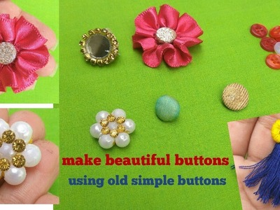 How to make fancy buttons at  home