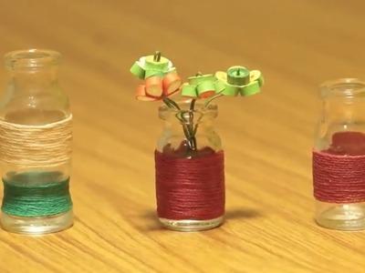 How to Make Miniature Home Decors