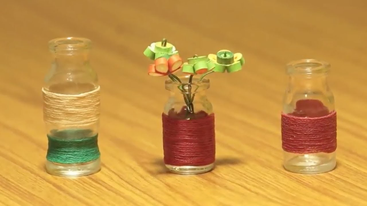 How to Make Miniature Home Decors