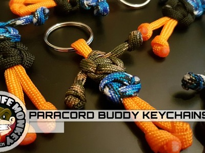 How to Make Paracord Buddies Using Your Scraps
