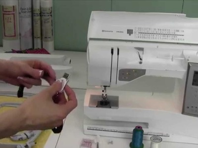 Husqvarna Viking Topaz 20 57 Getting Started with Embroidery