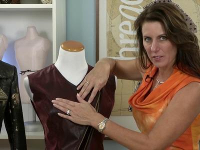 Make an Asymmetrical Design to a Jacket