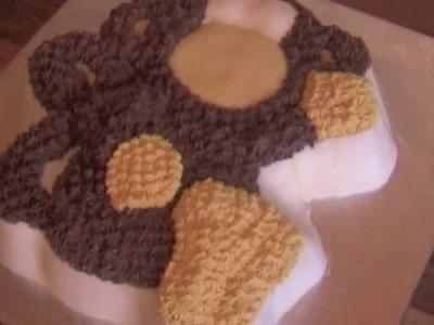 Making a Wilton Monkey Cake - Part 4