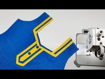 Neck design stitching easy method for beginners, neck design for kameez hindi