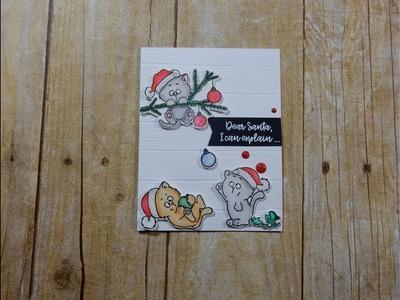 Not 2 Shabby Design Team Project   Gerda Steiner Christmas Kittens