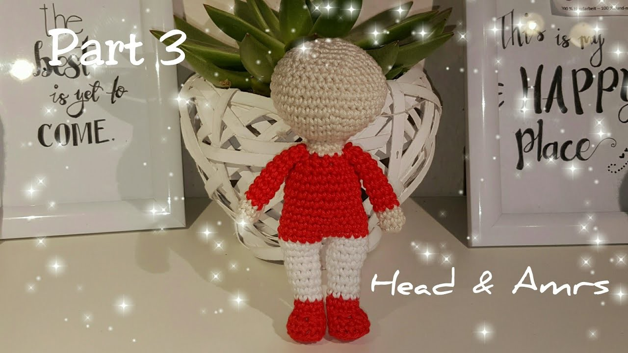 Amigurumi Doll Arms : Part amigurumi doll head arms my crafts and diy projects
