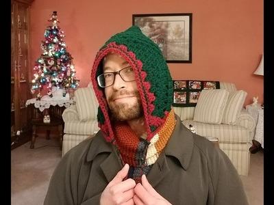 Pixie Hat.Hood Crochet Tutorial!
