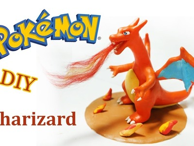 Pokemon Clay Requests #5: How To Make Charizard - DIY Polyme Clay