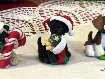 Polymer Clay - Deb & Felix Share her Puppy Pals