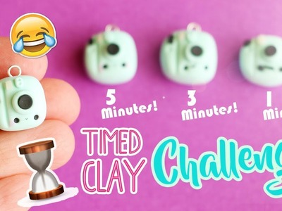 Polymer Clay Timed Challenge #2! (Kawaii Polaroid Camera)