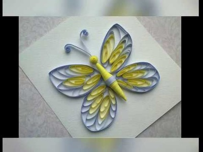 Quilling Quilling Instructions Make Quilling Butterfly With Comb
