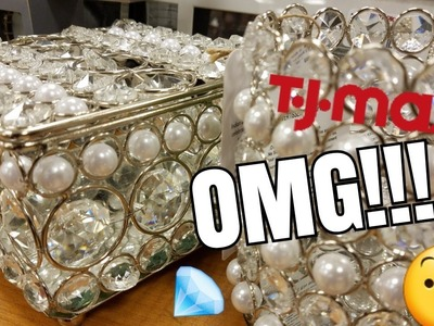 SHOP WITH ME: SO MUCH GLAM AT TJMAXX | HOME DECOR INSPO | NOVEMBER  2017