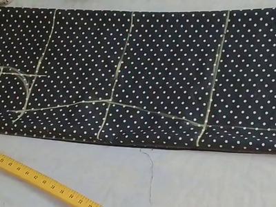 लेडीज कमीज की कटिंग करना सिखे, How to cut simple kameez with all armhole tips || Easy way ||