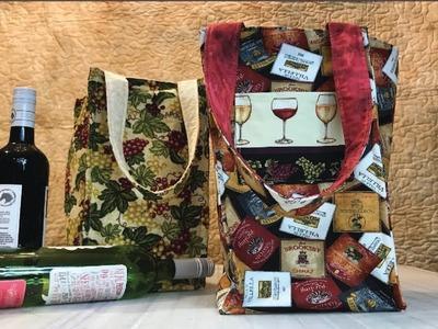 Wine Bottle Bag - Holds up to 4 bottles!