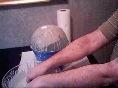 #44) Making a pot with paper and slip
