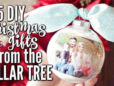 5 DOLLAR TREE DIY CHRISTMAS GIFTS | CHEAP CHRISTMAS GIFT IDEAS | PART 2 | LoveMeg