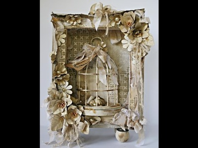 Altered Birdcage Canvas with Robbie Herring on Live with Prima