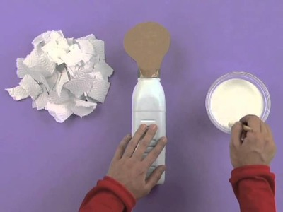Art Attack - How To Make A Bowling Pin!! - Disney India (Official)