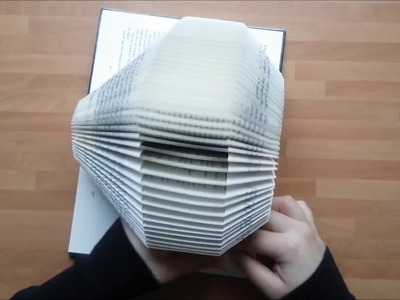 Bookfolding - How to fold 2 Hearts + Pattern | Vik en bok - steg för steg