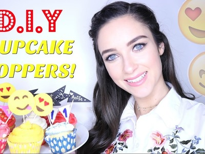 DIY Cupcake Toppers | How to Tutorial | Baking Craft |