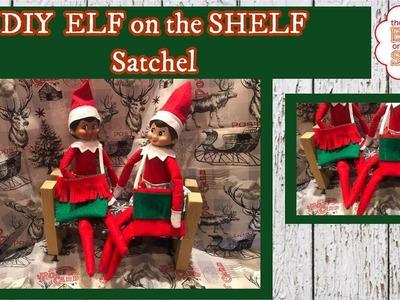 DIY EASY Dollar Tree ELF on the SHELF Satchel